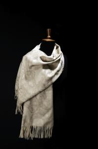 Silver Lace Stole (Stone)